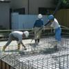 基礎コンクリート打設