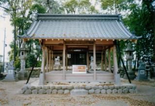 高熊神社屋根2